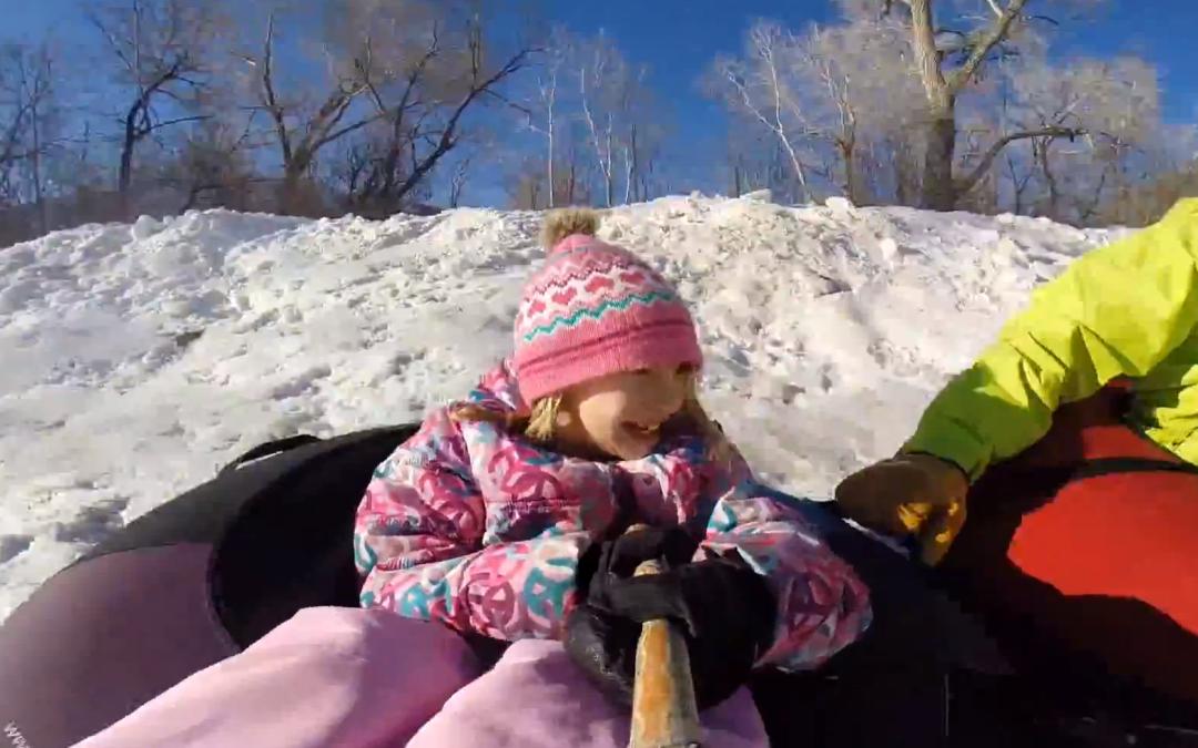A break for sledding